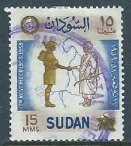 Sudan, Sc #124, 15m Used