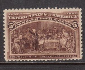 USA #234  Mint Never Hinged