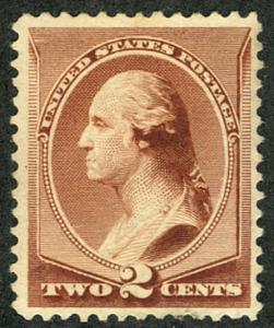 US #210 SCV $500.00 XF mint never hinged, well centered, fresh colors, SUPER ...