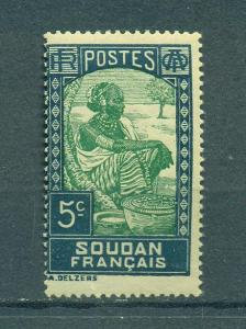 French Sudan sc# 65 mnh cat value $.40
