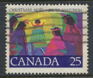 Canada  SG 897 Used Christmas 1977   SC# 743   see scan
