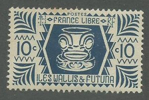 Wallis & Futuna Scott Catalog Number 128 Issued in 1944