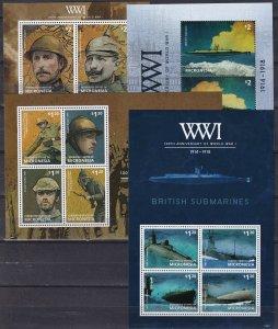 Micronesia #1050-3  MNH CV $35.50 (Z5908L)