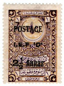 (I.B) India Postal : Indian Expeditionary Force 2½a (Turkey OP)