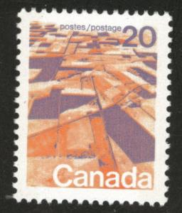 Canada Scott 596 MNH** Grain fields , praries stamp