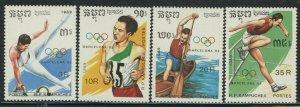 Cambodia 1989 Summer Olympics set Sc# 962-68 NH