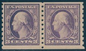 US Scott #394PR Mint, FVF, Hinged, PSE