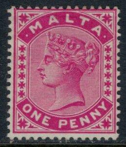 Malta #9* no gum  CV $11.00