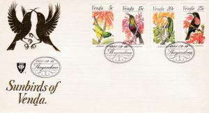 Venda 1981 Sunbirds FDC