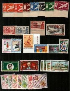Cameroun Mint NH sets (2 items tropical gum) - Catalog Value $91.30