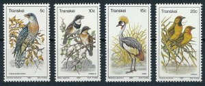 1980 Transkei 75-78 Birds 4,00 €