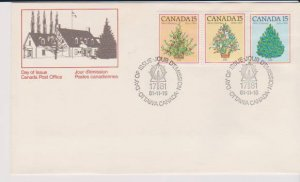 CANADA FDC FROM CANADA POST OFFICE STAMPS #900-902 LOT#M144