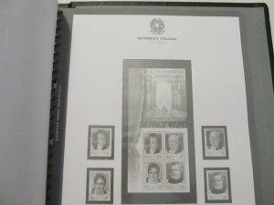 Bolaffi Custodia Cartella (San Marino) Fogli Repubblica 1991-2001 Pari al Nuovo