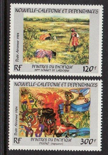 New Caledonia 1984 Art VF MNH (C202-3)