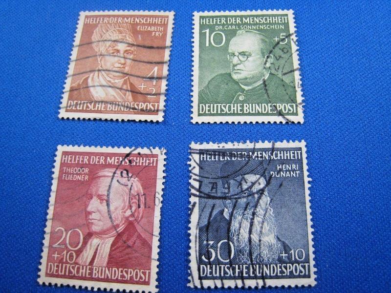GERMANY - SCOTT # B327-B330  -   Used      (kb)