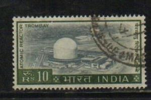 India  1965  # 422  Atomic Reactor  Used  # 03162   SD