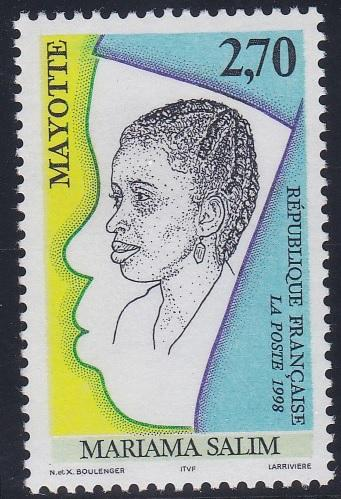 Mayotte 108 MNH (1998)