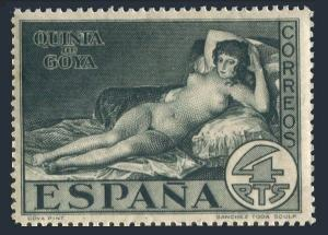 Spain 398,MNH.Mi 480. Francisco de Goya y Lucientes,painter,1930.La Maja Desnuda