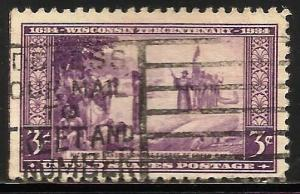 United States 1934 Scott# 739 Used