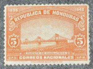 DYNAMITE Stamps: Honduras Scott #339 – MINT hr