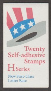U.S. Scott #3267a BK271 American Flag 'H' Hat Stamp - Mint NH Booklet