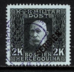 Austria Serbia 1916 Scott #1N18 used