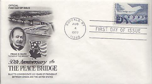 United States, First Day Cover, New York, Bridges