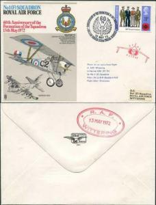 RAF1a No.1 (F) Sqn 60th Ann Formation of Squadron Standard Cover