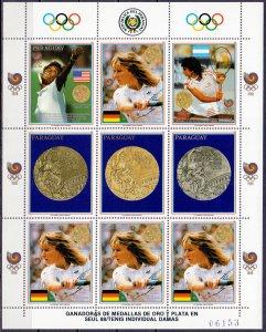 Paraguay. 1989. 4298-02 KLB 4302. Sports OI. MNH.