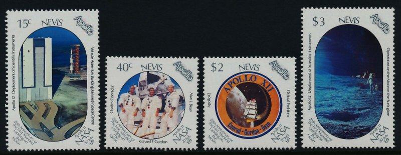 Nevis MNH 586-9 Moon Landing SCV 3.50