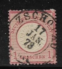 Germany Sc. #4 / Mi. #4 Used L59