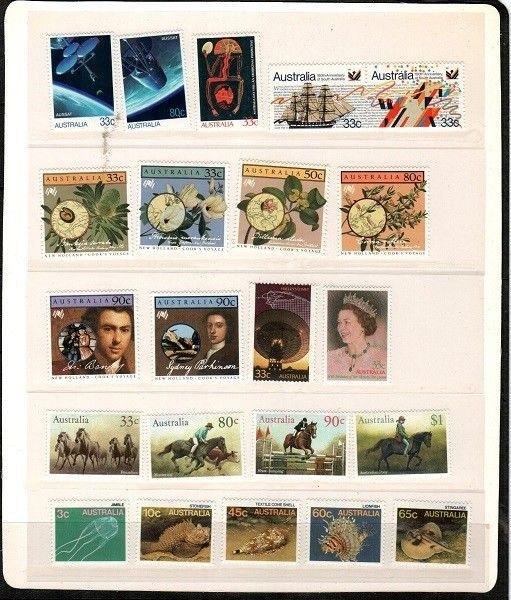 Australia Mint NH (1986 Year Set) - Catalog Value $69.65