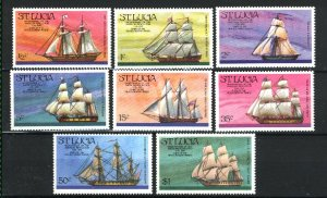 St. Lucia 379-86   M NH VF 1976  PD