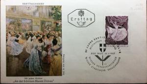 AUTRICHE / AUSTRIA / ÖSTERREICH 1967 Mi.1238C on FDC
