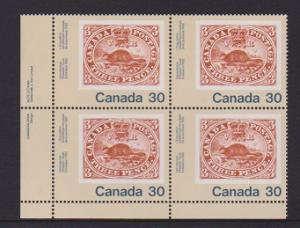 CANADA PLATE BLOCK MNH STAMPS #909 LOT#PB519