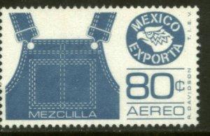 MEXICO EXPORTA C489, 80¢. OVERALLS, PAPER 1 MINT, NH. VF.