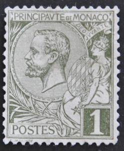 DYNAMITE Stamps: Monaco Scott #11 – UNUSED