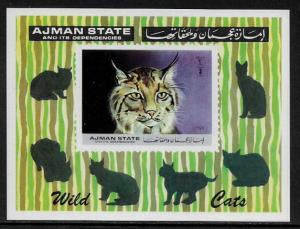 Ajman Michel #Block360 MNH S/Sheet - Lynx