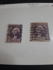 1932 George Washington *error*