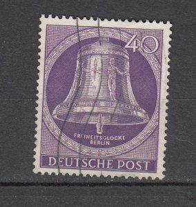 J26443  jlstamps 1953 germany berlin hv of set used #9n98 bell