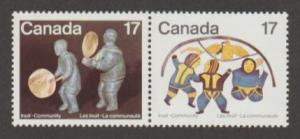Canada Scott #837-838 Eskimo Artists Stamp - Mint NH Pair