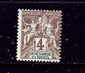 Senegambia and Niger 3 MH 1903 issue