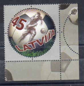 LATVIA - 2007 - FOOTBALL - SOCCER - 100 YEARS PROFFESIONNAL FOOTBALL -