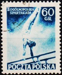 Poland. 1954 60g S.G.867 Fine Used