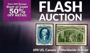 Flash Stamp Auction #125