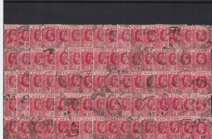 nigeria used stamps good cancels ref 13689