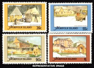 Norfolk Islands Scott 444-447 Mint never hinged.