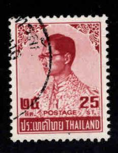 Thailand  Scott 655 Used Brown Red stamp