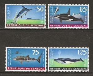 Senegal Scott catalog # C115-C118 Mint NH