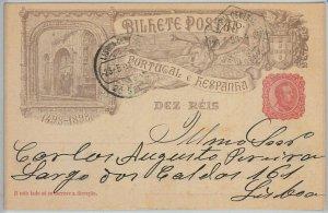 50863  - PORTUGAL -  POSTAL HISTORY: POSTAL STATIONERY CARD -  Michel # P45 1898